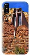 Chapel Of The Holy Cross  Sedona Arizona IPhone Case
