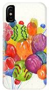Characters In Balloon IPhone Case