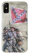 Charge Of The Virginia Regiment At Gettysburg IPhone Case