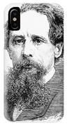 Charles Dickens, English Author IPhone Case