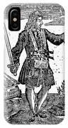 Charles Vane (c1680-1720) IPhone Case