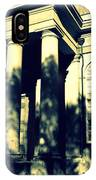 Charleston Church In Black And White IPhone Case