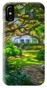 Charleston Sc Gardens IPhone Case