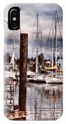Charleston Marina At The End Of The Day IPhone Case