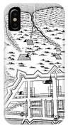 Charleston: Plan, 1704 IPhone Case