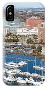 Charleston Waterfront And Marina South Carolina IPhone Case