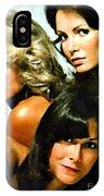 Charlies Angels Painting IPhone Case