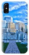 Charlotte Nc Usa - Charlotte Skyline  IPhone Case