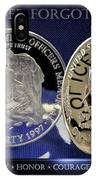 Charlotte Police Memorial IPhone Case