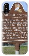 Chartier Concession IPhone Case