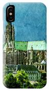 Chartres Cathedral IPhone Case