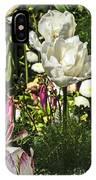 Chartres Garden White IPhone Case