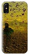 Chasing Birds In The Mist IPhone Case