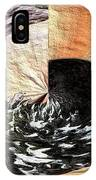 Chasing The Dragon's Tail IPhone Case
