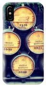 Chateau Barrels IPhone Case