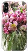 Chateau De Chenonceau Flowers On Mantle IPhone Case