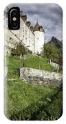 Chateau De Gruyeres IPhone Case