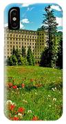 Chateau Lake Louise In Banff Np-alberta IPhone Case