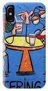 Chattering Teeth Dental Art By Anthony Falbo IPhone Case