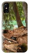 Cheakamus Lake Rainforest - British Columbia IPhone Case