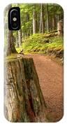Cheakamus Lake Trail IPhone Case