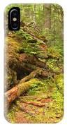 Cheakamus Old Growth Cedar Stumps IPhone Case