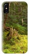 Cheakamus Rainforest Floor IPhone Case