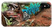 Cheakamus River Train Derailment IPhone Case