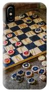 Checkers IPhone Case