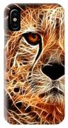 Cheetah Artwork IPhone Case