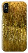 Cheetah - In The Wild Grass IPhone Case