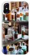 Chemistry - Bottles Of Chemicals IPhone Case
