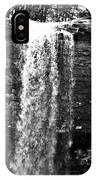 Cherokee Falls In Monochrome IPhone Case
