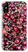 Cherries In Des Moines Washington IPhone Case