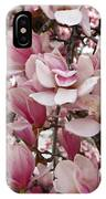 Pink Magnolia Blossom IPhone Case