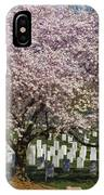 Cherry Blossoms Grace Arlington National Cemetery IPhone Case