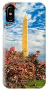 Cherry Blossoms In Washington IPhone Case