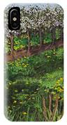Cherry Orchard Evening IPhone Case