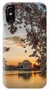 Cherry Sunrise Burst IPhone Case