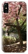 Cherry Tree In Bloom IPhone Case