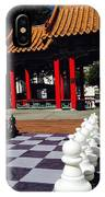 Chess In China Town IPhone Case