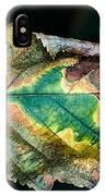 Chestnut Autumn Mosaic IPhone Case
