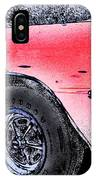 Chevelle Ss 356 IPhone Case