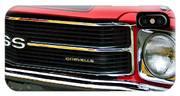 Chevrolet Chevelle Ss Grille Emblem IPhone Case