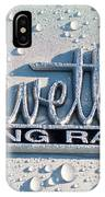 1966 Chevrolet Corvette Sting Ray Emblem -0052c IPhone Case