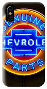 Chevrolet Neon Sign IPhone Case