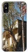 Chevron Station Ghost Town Gleeson Arizona 1972 IPhone Case