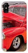 Chevy Hot Red IPhone Case