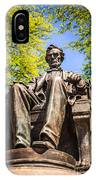 Chicago Abraham Lincoln Sitting Statue IPhone Case