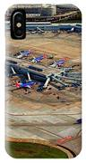 Chicago Airplanes 03 IPhone Case